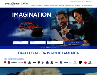 chryslercareers.com screenshot