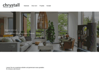 chrystall.com screenshot