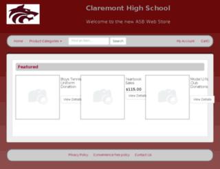 chs-asb-webstore.myschoolcentral.com screenshot