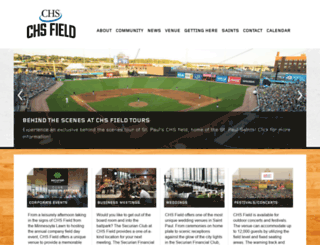 chs-field.com screenshot