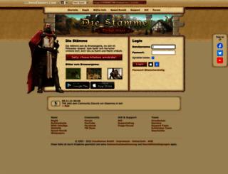 chs1.staemme.ch screenshot