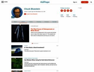 chuck-bluestein.hubpages.com screenshot
