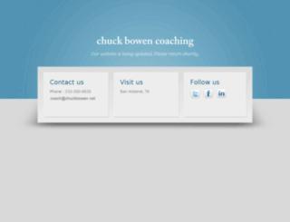 chuckbowen.net screenshot