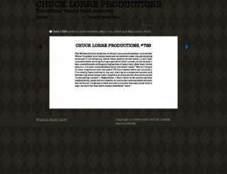 chucklorre.com screenshot