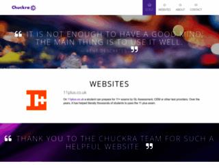 chuckra.com screenshot