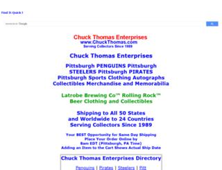 chuckthomas.com screenshot
