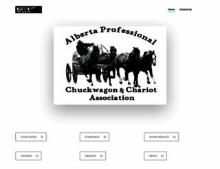 chuckwagon.ab.ca screenshot