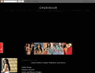 chudidaar.blogspot.com screenshot