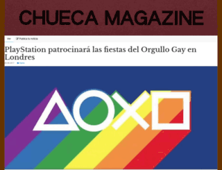 chuecamagazine.com screenshot