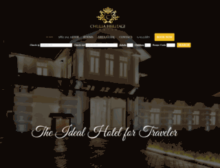 chuliaheritagehotel.com screenshot