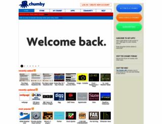 chumby.com screenshot