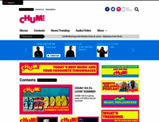 chumfm.com screenshot