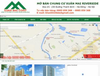 chungcuxuanmairiverside.net screenshot