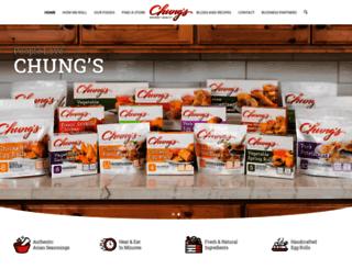 chungsfoods.com screenshot