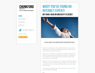 chunkford.com screenshot