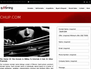 chup.com screenshot