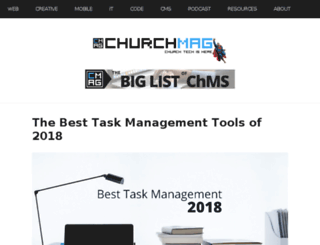 churchcrunch.com screenshot