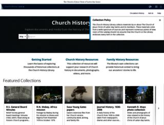 churchhistorycatalog.lds.org screenshot
