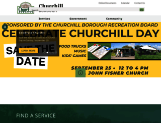 churchillborough.com screenshot