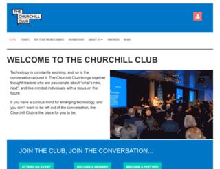 churchillclub.org.au screenshot