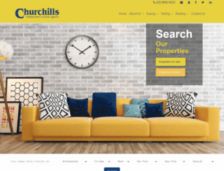 churchillsbushey.co.uk screenshot