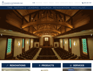 churchinteriors.com screenshot