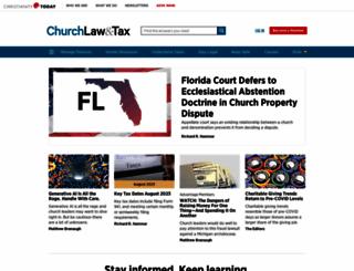 churchlawandtax.com screenshot