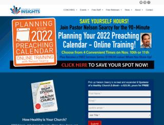 churchleaderinsights.com screenshot