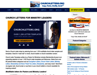 churchletters.org screenshot