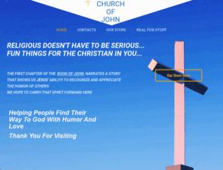 churchofjohn.com screenshot