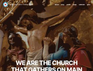 churchonmain.org screenshot