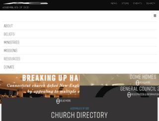 churchplanting.ag.org screenshot