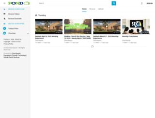 churchpond.com screenshot