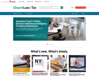 churchsafety.com screenshot