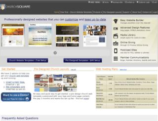 churchsquare.com screenshot