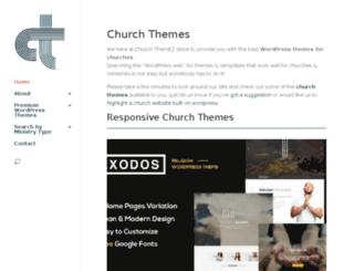 churchthemez.com screenshot