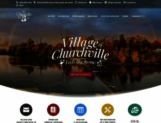 churchville.net screenshot