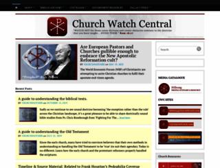 churchwatchcentral.com screenshot