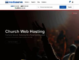 churchwebsitehost.com screenshot