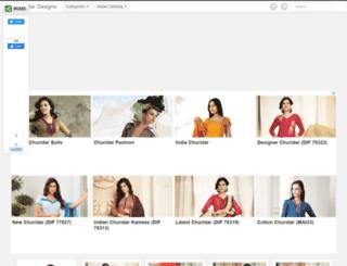 churidardesigns.com screenshot