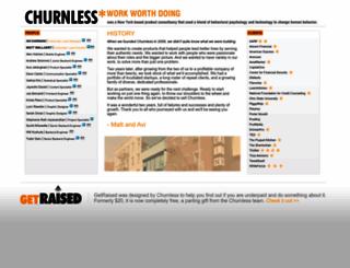 churnless.com screenshot