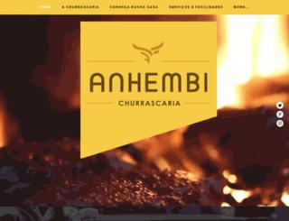 churrascariaanhembi.com.br screenshot