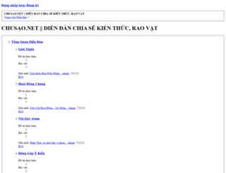chusao.net screenshot