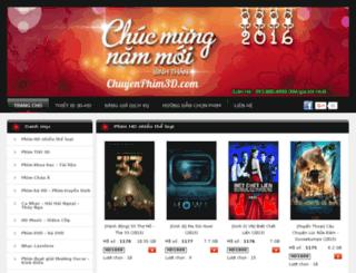 chuyenphimhd.com screenshot