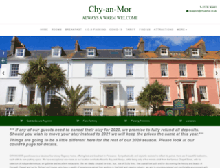 chyanmor.co.uk screenshot