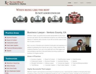 chytenlaw.com screenshot