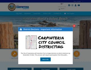 ci.carpinteria.ca.us screenshot