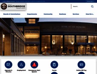 ci.southbridge.ma.us screenshot