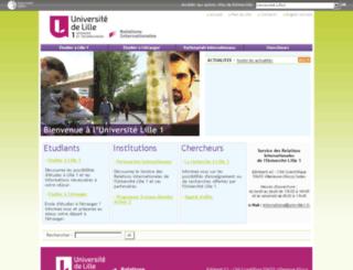 ci.univ-lille1.fr screenshot