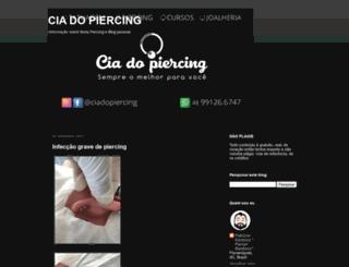 ciadopiercing.com screenshot